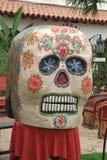 Dag van het dode masker, Día DE los Muertos Stock Foto
