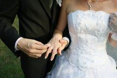 Dag van huwelijk Stock Foto
