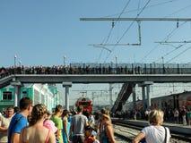 Dag van railwayman Royalty-vrije Stock Afbeeldingen