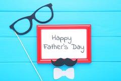 Dag van tekst de gelukkige vaders royalty-vrije stock foto's