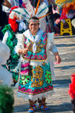 Dag van Virgin van Guadalupe in Mexico-City Stock Foto