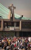 Dag van Virgin van Guadalupe in Mexico-City Stock Afbeeldingen