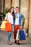 Dag voor het winkelen stock afbeeldingen