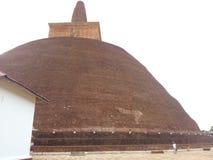 Dagaba Abayagiri στο anuradapura Σρι Λάνκα στοκ φωτογραφία με δικαίωμα ελεύθερης χρήσης