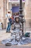 Dagar av beröm och partiet i Malaga Andalusia Spanien Arkivbilder