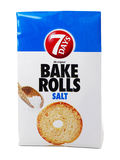 7 dagar bakar Rolls med salt Royaltyfri Bild