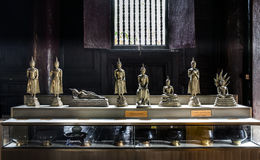 7 dagar Buddhabild. arkivbild