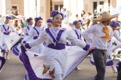 Dagar för BISD-barn` s Charro ståtar royaltyfri foto