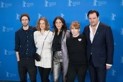` 3 dagar i Quiberon ` 3 Tage i Quiberon fotoappell på 68th Berlinale Royaltyfria Foton