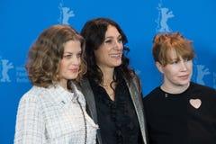 ` 3 dagar i Quiberon ` 3 Tage i Quiberon fotoappell på 68th Berlinale Royaltyfri Foto