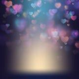Dagbakgrund för valentin s 10 eps Arkivfoton