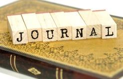Dagboek royalty-vrije stock foto