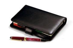 dagbokpenna Royaltyfria Bilder