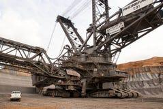 Dagbouw mijn, Hambach, Duitsland stock afbeelding