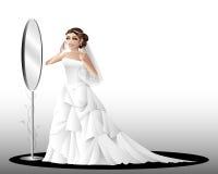 dagbröllop royaltyfri illustrationer