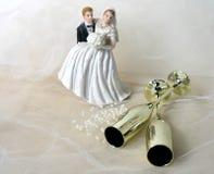 dagbröllop Fotografering för Bildbyråer