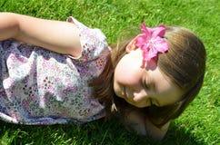 dagdrömma för barn Fotografering för Bildbyråer