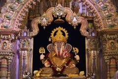 Dagdusheth Halwai Ganpati, Pune District, Maharashtra, India. Dagdusheth Halwai Ganpati, Pune District, Maharashtra state of India royalty free stock images