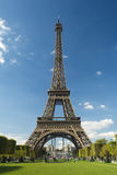 dageiffel soligt torn Royaltyfri Foto