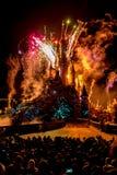 Dagelijks Disney-Vuurwerk Royalty-vrije Stock Afbeelding