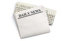 Dagelijks Nieuws royalty-vrije stock fotografie