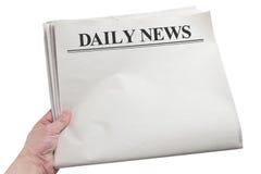 Dagelijks Nieuws stock afbeeldingen