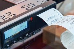 Dagelijks registreerapparaat voor bestuurder over lange afstand stock afbeeldingen