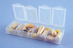 Dagelijkse drugdosering stock foto's