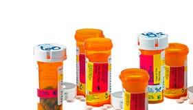 Dagelijkse geneeskundedosis stock foto's