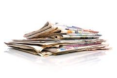 Dagelijkse Kranten royalty-vrije stock fotografie
