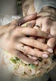 Dagen av bröllopet Arkivfoto