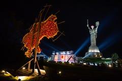 Dagen av minnet och försoning i Kiev Arkivfoton