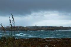 Dagen efter stormen arkivfoton