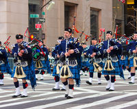 Dagen för St. Patricks ståtar NYC Royaltyfria Bilder