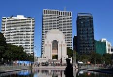Dagen för styrkor för den nationella reserven ståtar på ANZAC Memorial Arkivfoton