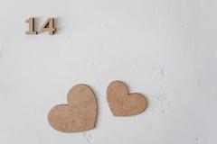 Dagen för valentin` s blommar dag för kvinna` s Royaltyfria Bilder