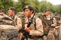 dagen tjäna som soldat veteran Royaltyfri Bild