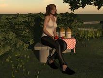 Dagen van Cider Stock Foto