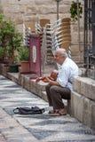 Dagen van viering en partij in Malaga Andalusia Spanje Stock Afbeeldingen