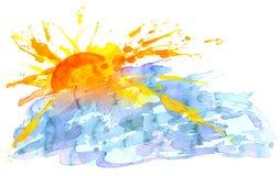dageraad vector illustratie