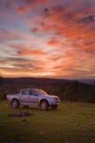 Dageraad van nieuw SUV Royalty-vrije Stock Afbeelding