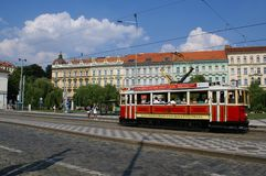 Daggata i Prague Royaltyfri Foto