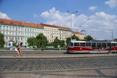 Daggata i Prague Royaltyfria Bilder