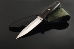 Dagger on black background Stock Image