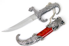 Dagger and sheath Royalty Free Stock Image