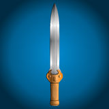 Dagger, vector illustration Royalty Free Stock Images
