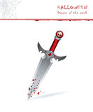 Dagger of the witch Stock Photos