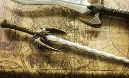 daggers imagens de stock