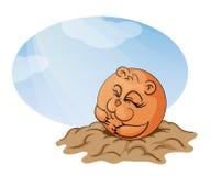 daggroundhog Arkivfoto
