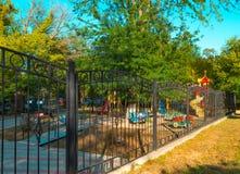 Dagis för lekplats för barn` s Royaltyfri Bild